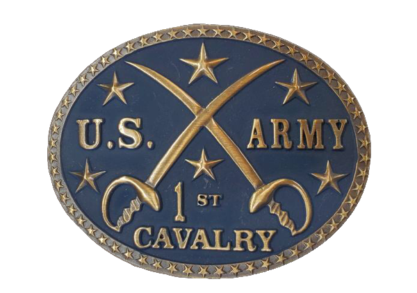 US Army 1st Cavalry Buckle by AndWest