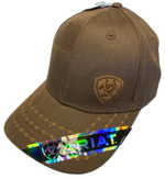 Ariat Small Logo Brown Cap