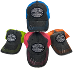 Buckle and Hide Neon Trucker Caps