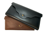 Ladies USA Leather Clutch Style Wallet