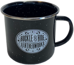 Buckle and Hide Camp Coffee Cup