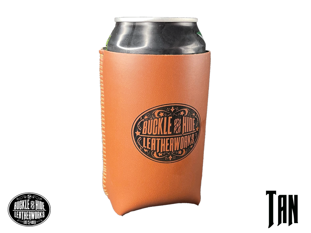 Buckle and Hide Can Koozie