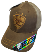 Ariat Large Logo Brown Trucker Cap