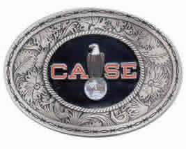 Case Western Tractor Belt Buckle