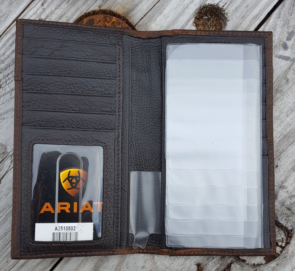 Ariat Rodeo Wallet w/ Overlay