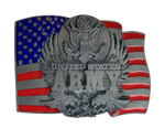 Army Flag Belt Buckle