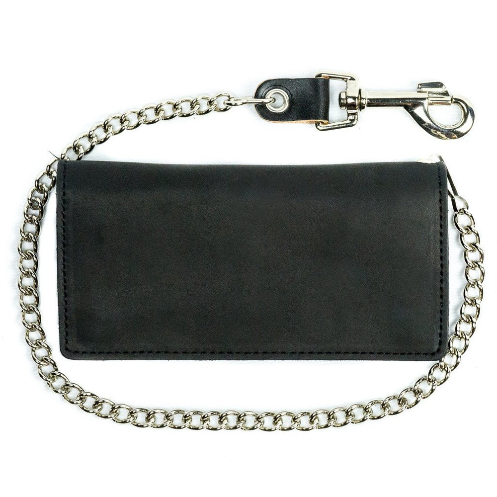 "Large 8"" Bifold Chain Wallet"