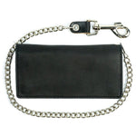 Large Bifold Chain Wallet