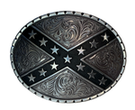 Nocona Heritage Stars/Bars Belt Buckle