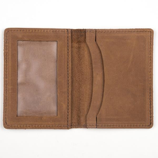 Front Pocket Wallet Brown