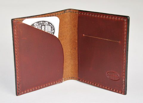 Cash and Card front pocket wallet inside