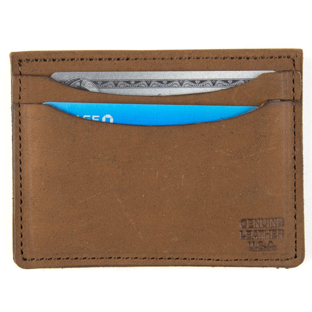 Front Pocket Leather Card Holder