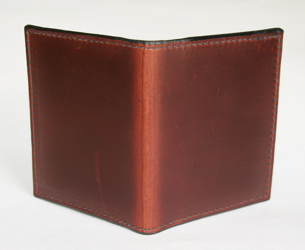 Folding card wallet outside