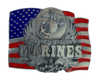 Marines Flag Belt Buckle