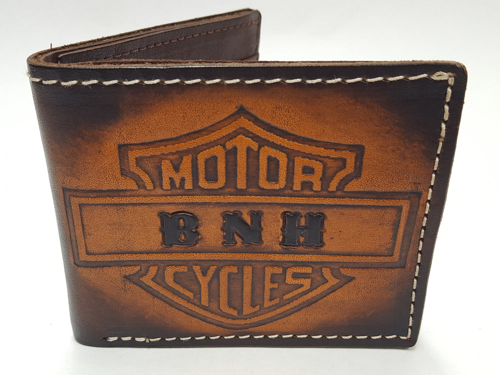 Motorcycle design wallet