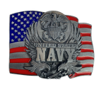 Navy Flag Belt Buckle