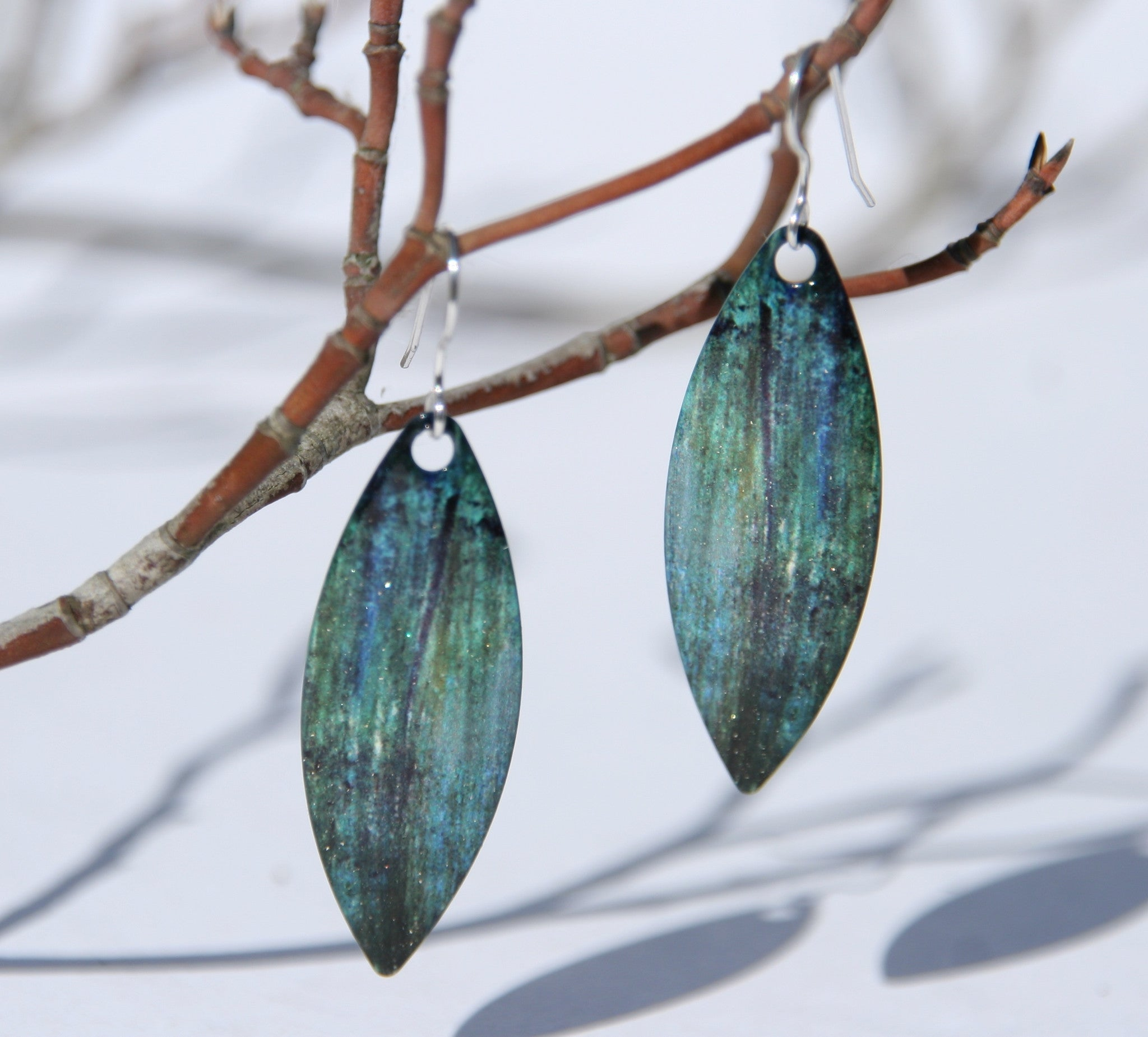 D'ears Forest Painted Earrings