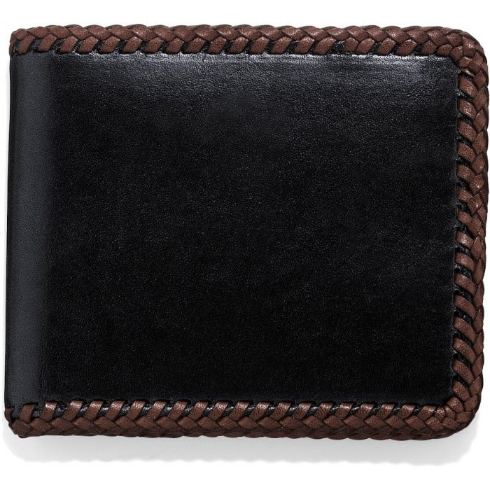 Lace Edge Leather Wallet