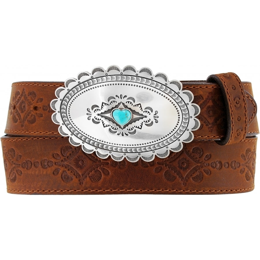 Navajo Heart Belt by Justin