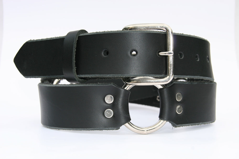 Rings Leather belt