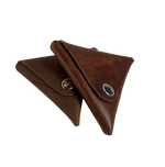 Leather Coin Triangle Wallet  BUY MORE and SAVE!