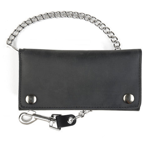 Three fold Credit Card chain wallet