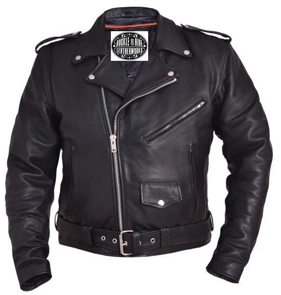 Premium Leather MC Jacket