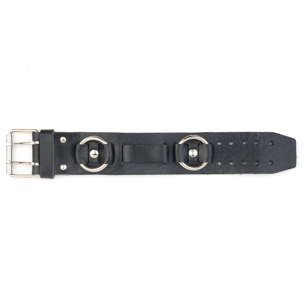 Rings Leather watchband
