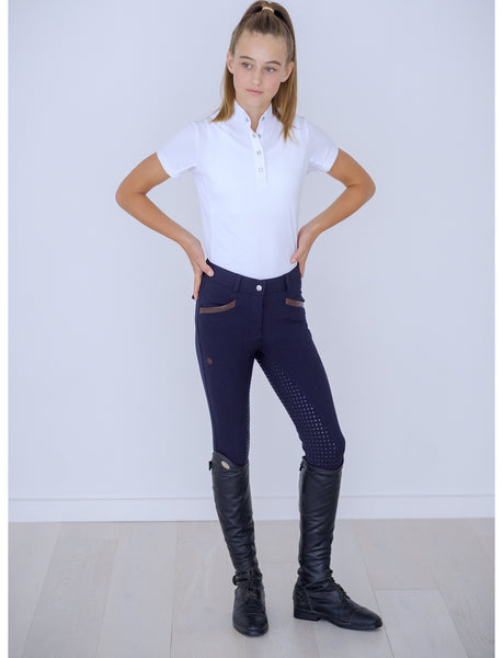 YOUTH 'ANNA' DARK NAVY BAMBOO BREECH