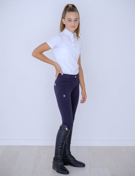 YOUTH 'LULU' NAVY COOLMAX BREECH