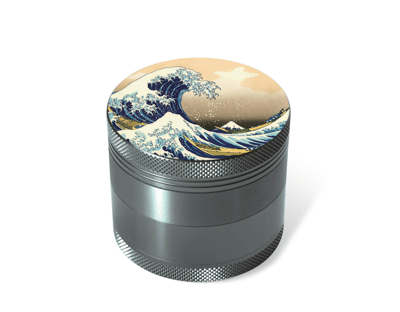 "Art Series 4-Piece Grinder ""The Great Wave"""
