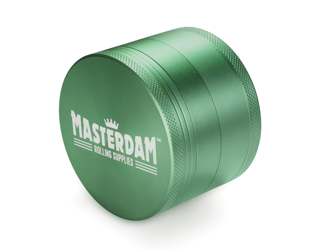 "4-Piece Matte Green Grinder 63mm Large (2.5"")"
