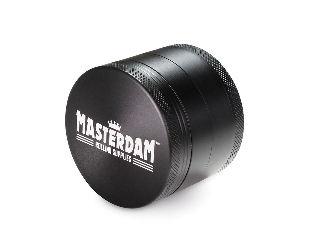"4-Piece Matte Black Grinder 55mm Standard (2.2"")"