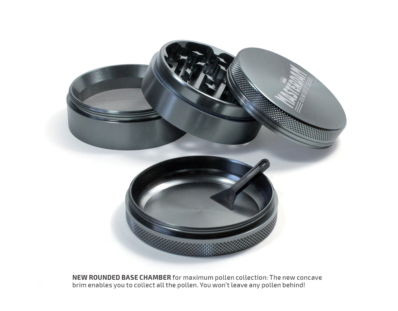Bundle Large Grinder & 400ml Jar, Gunmetal