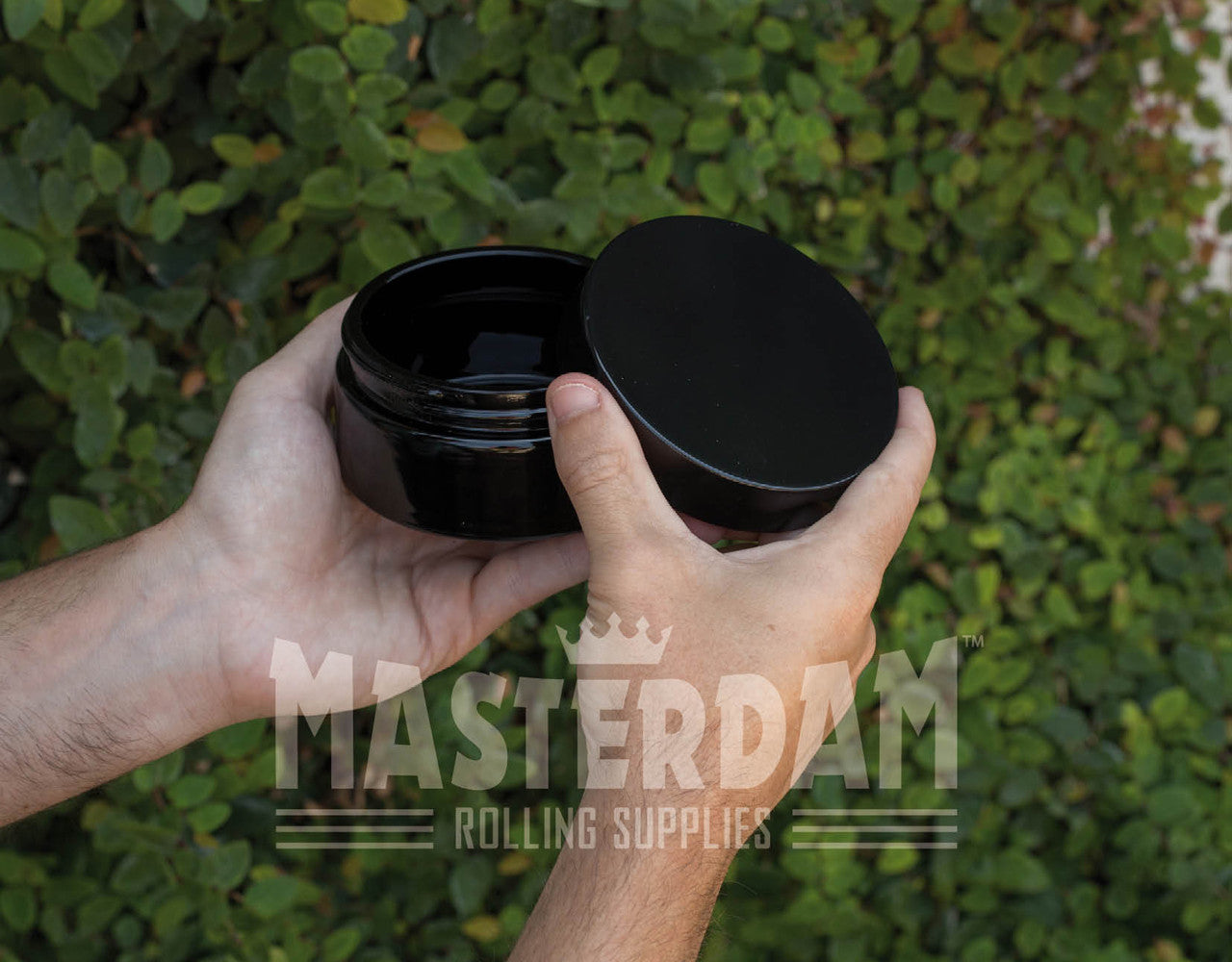 Masterdam Jars 200ml StashShield UV Glass Jar