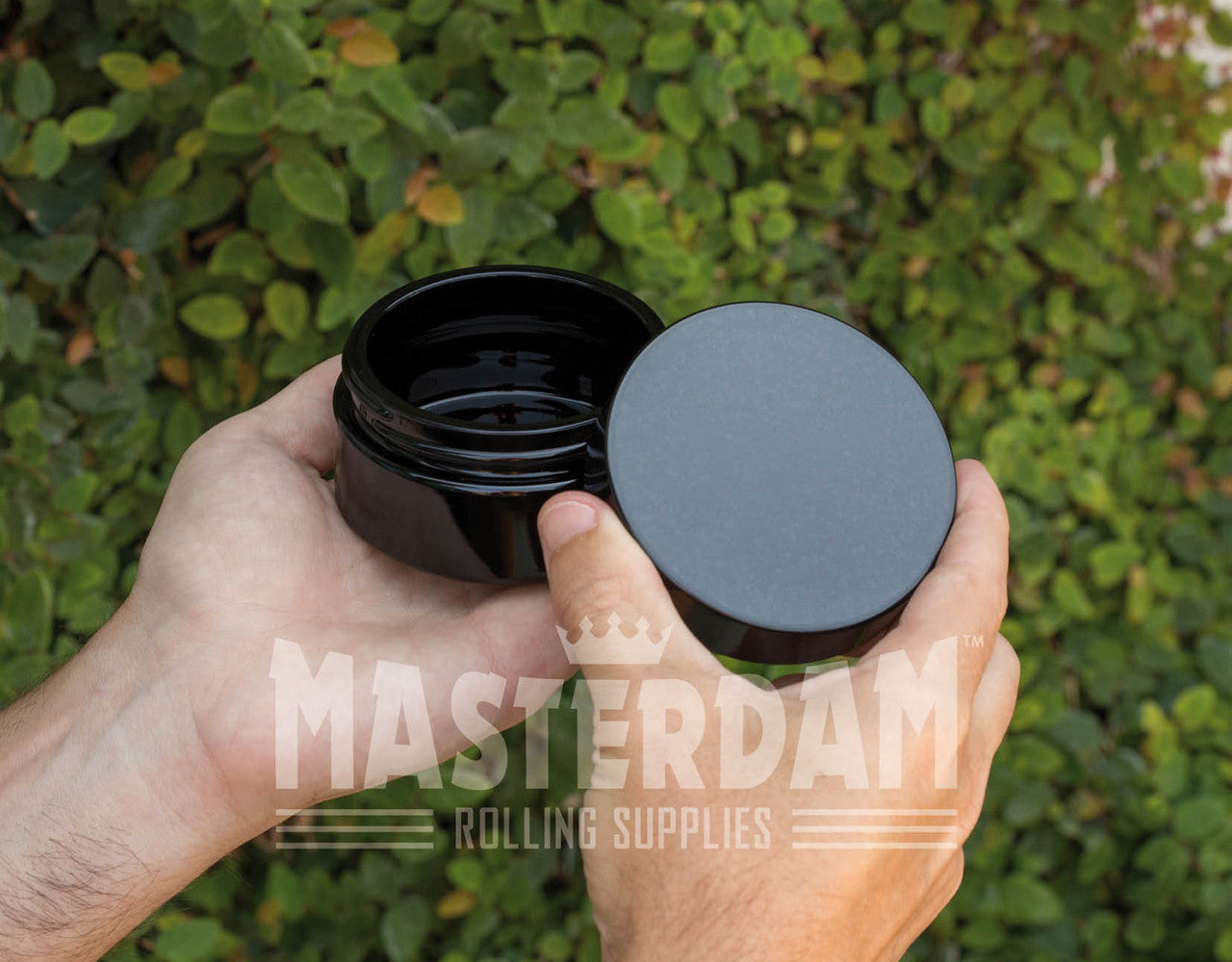Masterdam Jars 100ml StashShield UV Glass Jar