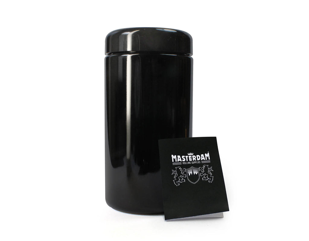 Masterdam Jars 500ml StashShield UV Glass Jar