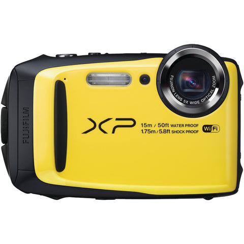 Fujifilm 16.0 Megapixel Finepix Xp90 Digital Camera (yellow)