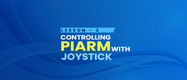 Lesson 3 - Controlling using Joystick
