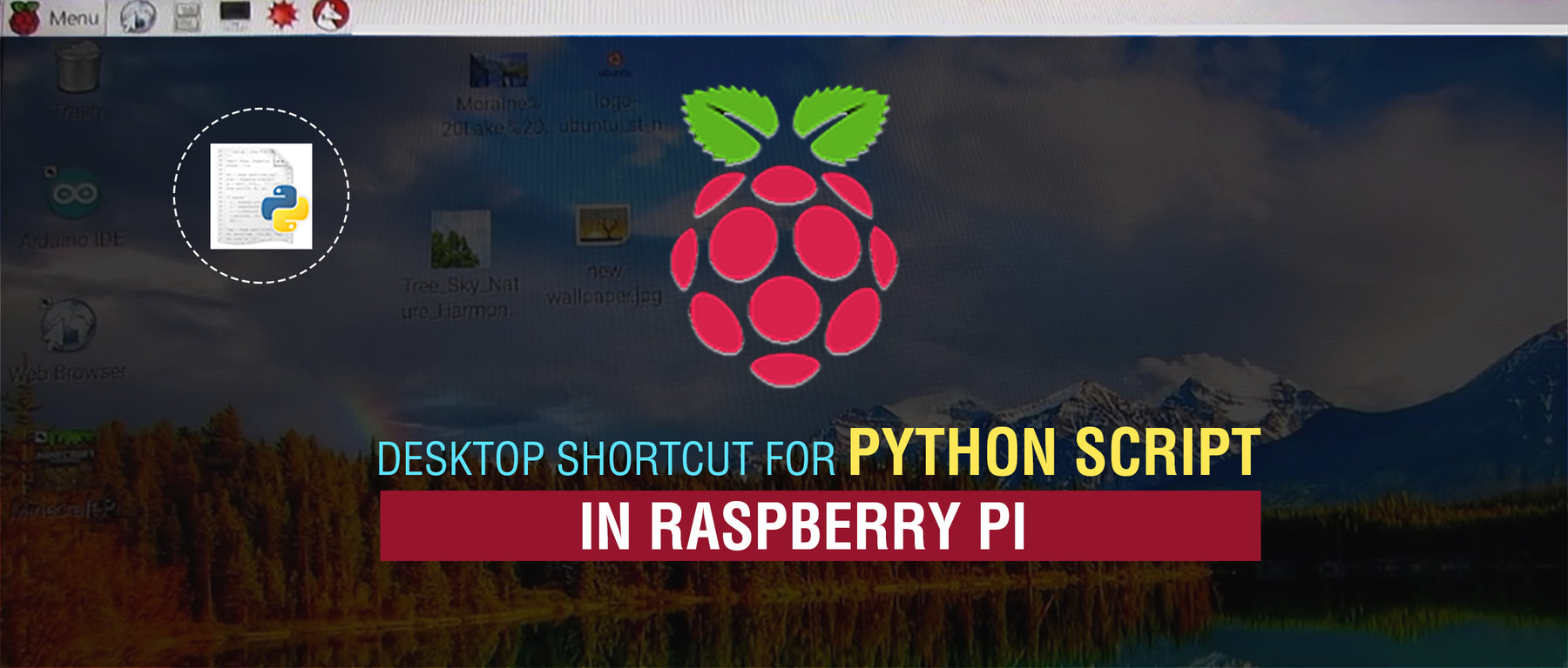 Desktop Shortcut for Python Script on Raspberry Pi