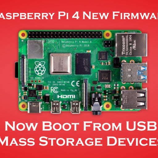 RASPBERRY PI 4 NEW BETA FIRMWARE