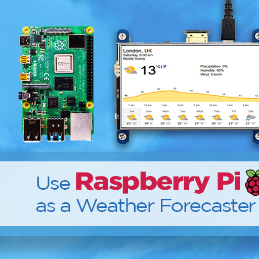 Use Raspberry Pi as a Weather Forecaster - SB Components