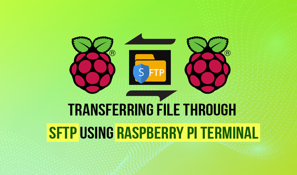 Transferring file through SFTP using Raspberry Pi Terminal