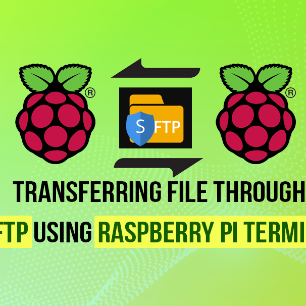 Transfering file through SFTP using Raspberry Pi Terminal
