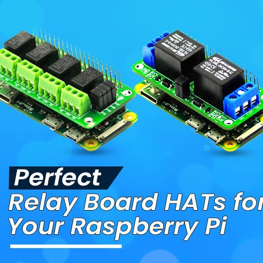 Perfect Relay Board HATs for your  Raspberry Pi