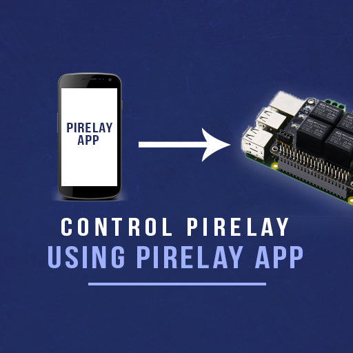 PiRelay Controlling using Android App (PiRelay)