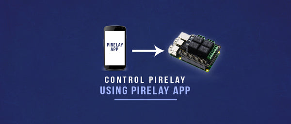PiRelay Controlling using Android App