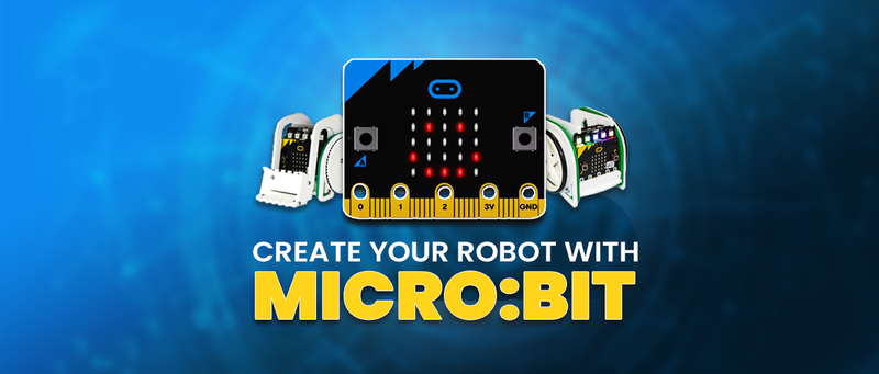 Create Your Robot With The micro:bit - SB Components