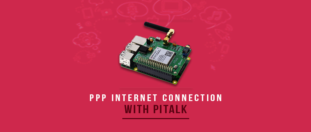 Make a PPP Internet Connection using PiTalk