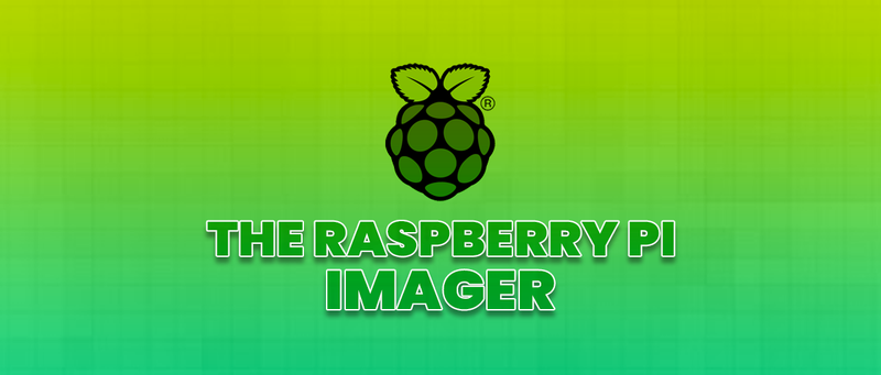 The Raspberry Pi Imager - SB Components
